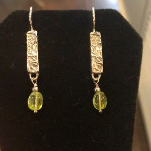 SilpAda peridot earrings W1378